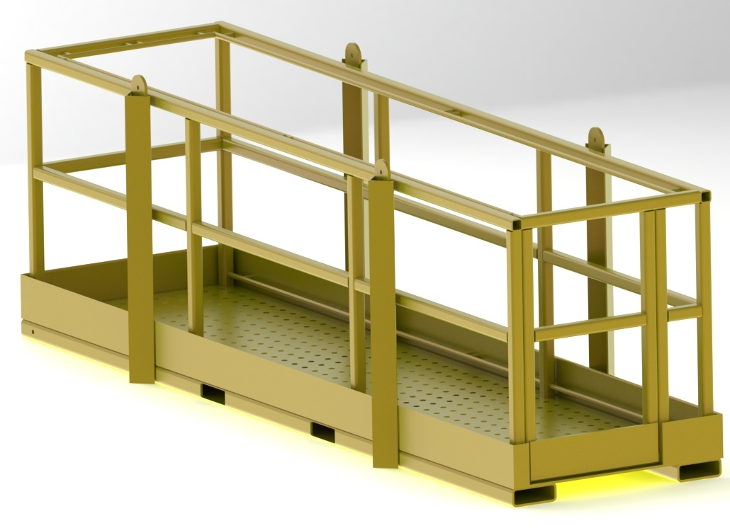 Personnel Baskets Wrs Fall Protection Systems And Osha