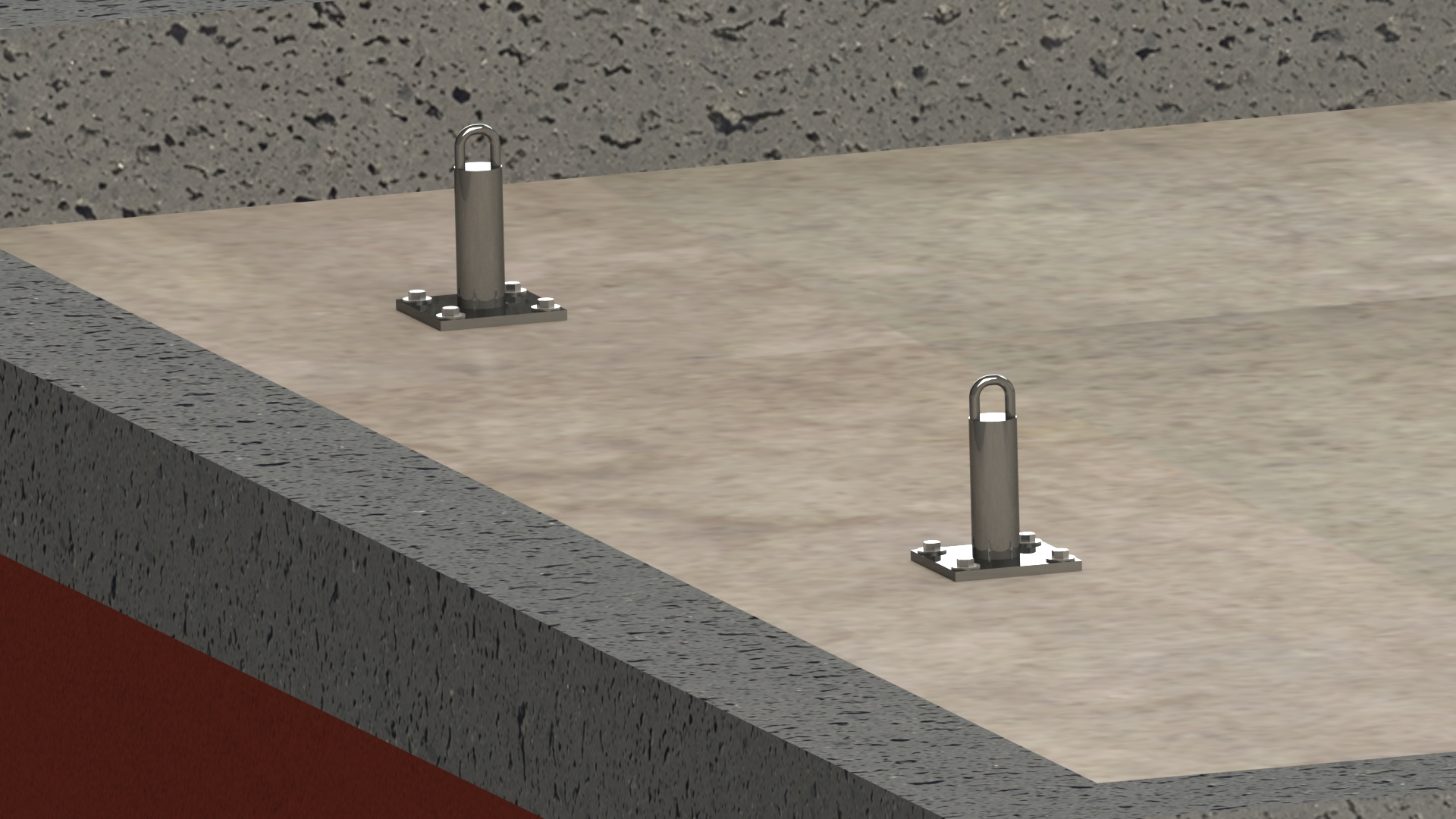 Tie Back Anchors Wrs Fall Protection Systems And Osha